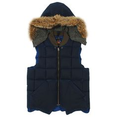 Nigel Cabourne work for Eddie Bauer, down vest