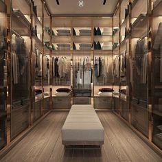Wardrobe Room, Wardrobe Design Bedroom, Bedroom Decor, Walk In Closet Design, Closet Designs, Dream House Interior, Luxury Homes Dream Houses, Home Room Design, Dream Home Design