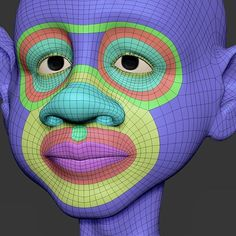 Hey guys, here is an example of topology and edge loops that I consider when I'm working on a character