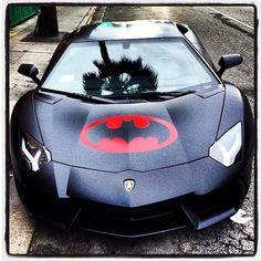 Cool Batman Lamborghini Aventador