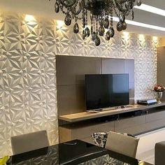 Revestimento Solis divo  @Regrann from @alexandrecasram -  Valorizando as paredes os efeitos que os Revestimentos 3D proporcionam  principalmente aliados a iluminação são fantásticos. Podem ser cerâmicos amadeirados ou até mesmo artificiais. Parabéns pela escolha @stephanie_dantas . Na Galpão você pode conhecer uma infinidade de modelos .3232 6251 @maskirevestimentos  @galpao_revestimentos - #revestimento #cimenticio #maski #solis #design #decor #instadesign #interiordesign #homedesign…