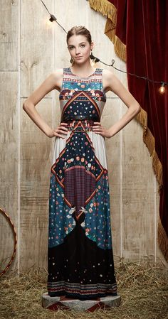 Vestido Longo O Mágico | Carola e sua Cartola | Antix Store