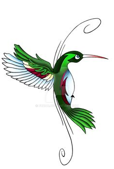 This is a hummingbird tattoo that i drew for my friend Full-veiw to get rid of that black shit. Ask before use.