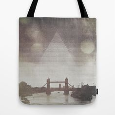 Tower Bridge, London Tote Bag by Dan Howard - $22.00 #artwork #design #photography