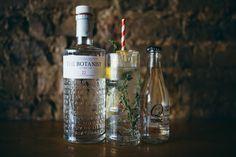 The Botanist Gin, with fresh thyme, lemon & Q Indian Tonic