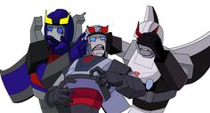 Hear No Evil -  Bluestreak: Hey. Hey! What are they saying? Prowl: Nothing that you need to hear. Smokescreen: Oh, Primus…