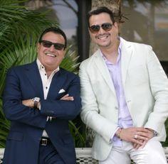 Ismael Miranda y Victor Manuelle