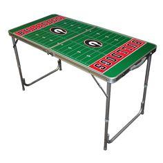 University of Georgia Bulldogs Tailgate Table  #Ultimate Tailgate #Fanatics