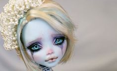 """Monster High Repaint Custom OOAK Lagoona Blue """"Dylan"""" by Rogue Lively"""