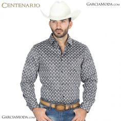 8cd62a0e6 Camisa Vaquera Centenario Western Wear 41068 Satin Negro