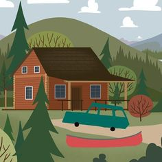 We're Going Canoeing - Cabin - The cabin is the best get away there are so many things to do and the perfect place to start a canoeing road trip. Canoeing road trip wall art #canoeingroadtrips #weregoingcanoeing #letsgocanoeingnow #letsgocanoeingtoday #Iwishiwascanoeing #canoeingaddiction #canoeingadventure #Canoeinglifeforme #canoeingart #canoeingartwork