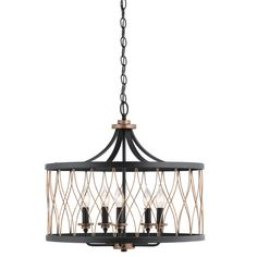 Pendant Lights At Lowes Best Shop Kichler Lighting Brookglen 2047In W Black And Suede Vintage