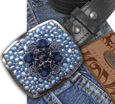 Blue for You Belt Buckle by What The Buckle on Etsy.com