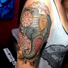 Small Elephant Tattoo Designs