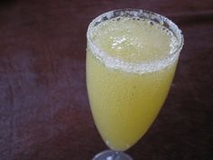Limoncello Champagne Cocktails. My mommy will love me if I show up with these for Easter. Or again, garden party anyone?