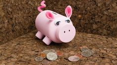 Want a cute place to store your 💰spare change💰? Make this #DIY #piggybank. 🐖  WHAT YOU NEED:  🐽Empty doTERRA supplement container with removed label  🐷2 peel and stick wiggle eyes or buttons  🐽4 essential oil bottle lids  🐷Pink paint of choice  🐽Paint brush or spray paint  🐷Felt sheet for ears  🐽Exacto knife or craft knife  🐷Glue gun  🐽Scissors  🐷1 pink pipe cleaner for the tail  🐽Sharpie  - See more at: http://wu.to/BpqAgi