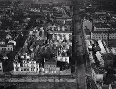 Vue aérienne de l usine de montplaisir Lyon vers 1920