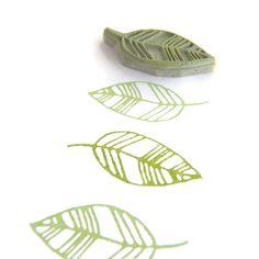 Rubber Stamp Flourish Leaves Pattern - DIY Natural Hand Drawn Pattern Maker…