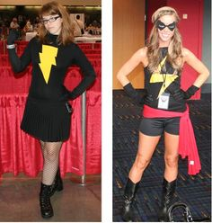 Cute Ms. Marvel Costume