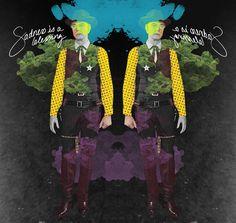 Rorschach twins by N de Nonoy (2013)