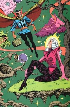 Clea has been the head of the Dark Dimension most of the time, with that role serving as the main reason that she and Stephen cannot be together.