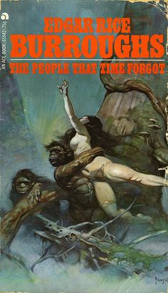 Burroughs - The people that time forgot  Frank Frazetta art