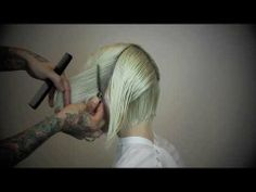 Edgy Bob How-To by Fern the Barber