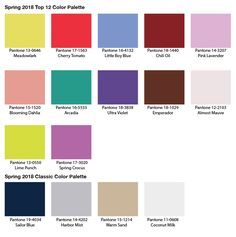 Image result for pantone colors spring 2018