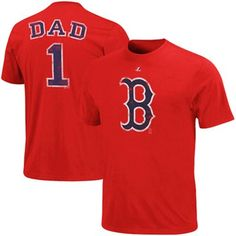 Boston Red Sox #1 Dad Father's Day T-Shirt