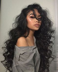 I want that hair! ღ   Stunning and stylish outfit ideas from Zefinka.com for fashionable women.