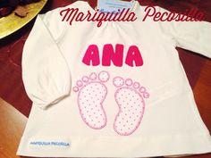 Camiseta huellas Ana