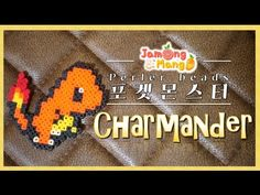 Poketmonster charmander perler beads