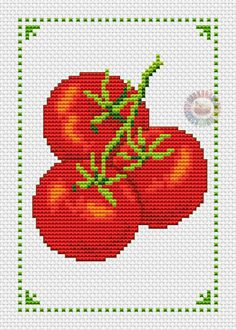 Alisa Counted Cross Stitch Kit-poire