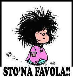 Mafalda and more… Italian Memes, Italian Quotes, Feelings Words, Snoopy Love, Spanish Humor, Funny Wallpapers, Vignettes, Illustration, Comics