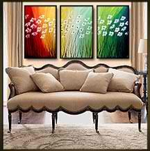 72x36 Original Painting by Geni by genistudio on Etsy, $149.99
