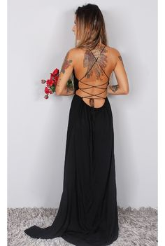 Vestido Longo Coisa Nossa - fashioncloset