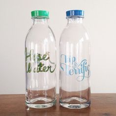 @Faucet Face glass bottles + doing some good. check them out at http://faucetface.com/