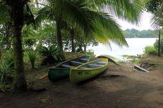 tortuguero all inclusive tour page canoes   - Costa Rica