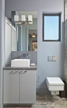 Contemporary Bathroom Design, Pictures, Remodel, Decor and Ideas - page Toilet! Contemporary Bathroom Designs, Bathroom Design Small, Modern Design, Best Bathroom Colors, Bathroom Color Schemes, Guest Toilet, New Toilet, Classic Bathroom, Modern Bathroom