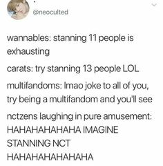 Um, try being a multifandom NCT stan. It's a miracle I have any brain space for new groups at this point ››> relatable :'D K Pop, Steven Universe, Nct Life, Funny Kpop Memes, Latest Albums, Kpop Groups, Taeyong, K Idols, Jaehyun