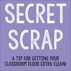 Works For Us Wednesday: Secret Scrap