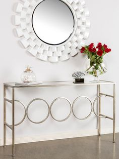 Meaghan Console Table from Update Your Foyer on Gilt