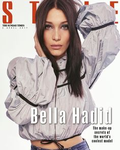 Bella Hadid for The Sunday Times Style 2017, фотосессия Беллы Хадид для The Sunday Times Style 2017