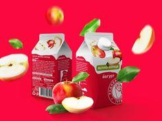Radyvylivmilk Dairy Packaging         on          Packaging of the World - Creative Package Design Gallery