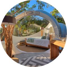 Make your dream go live at Bubble Lodge Mauritius. Spend the night under the stars, in an atypical holiday accommodation amidst nature. Bubble House, Bubble Tent, Outdoor Pergola, Gazebo, Outdoor Decor, Vacation Places, Dream Vacations, Bed Tent, Farm Stay