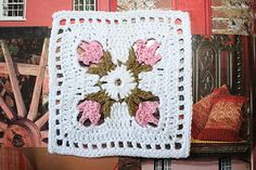 crochet...I would love to have directions for this square in English