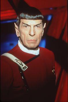 Monsieur Spock- Leonard Nimoy