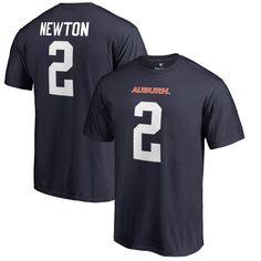 Cam Newton Auburn Tigers Fanatics Branded College Legends Name & Number T-Shirt - Navy