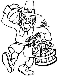 Free Thanksgiving coloring pictures for kids. These coloring book pictures will keep the kids happy for hours! Thanksgiving coloring sheets and coloring book pages too. Happy Thanksgiving Clipart, Free Thanksgiving Coloring Pages, Thanksgiving Cartoon, Turkey Coloring Pages, Easter Coloring Pages, Bible Coloring Pages, Thanksgiving Activities, Coloring Books, Fall Coloring Pictures