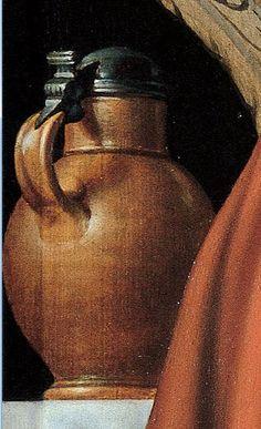 1559 Pieter Aertsen (circa 1508–1575) The Cook DETAIL    Musei di Strada Nuova